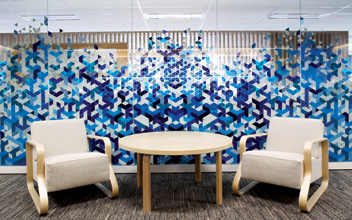 Macquarie Bank Wall Graphics