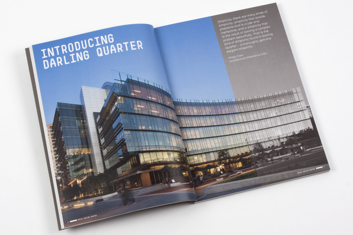 Inside Darling Quarter Book