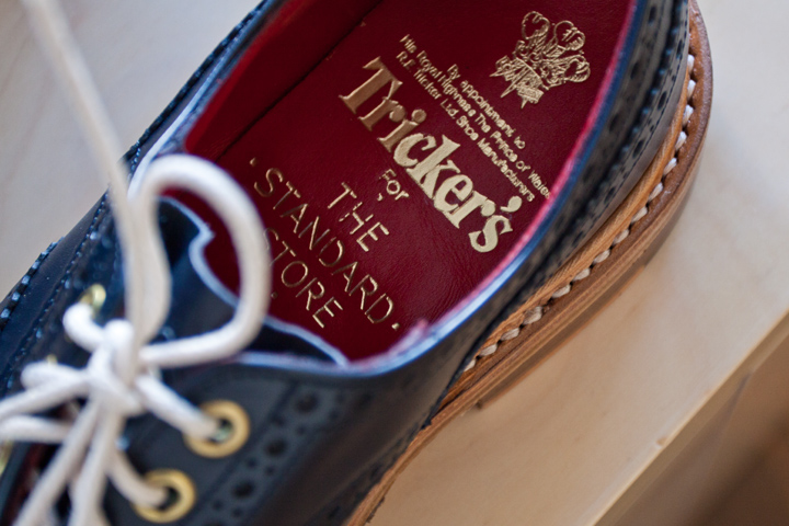 Tricker's in collaboration with The Standard Store